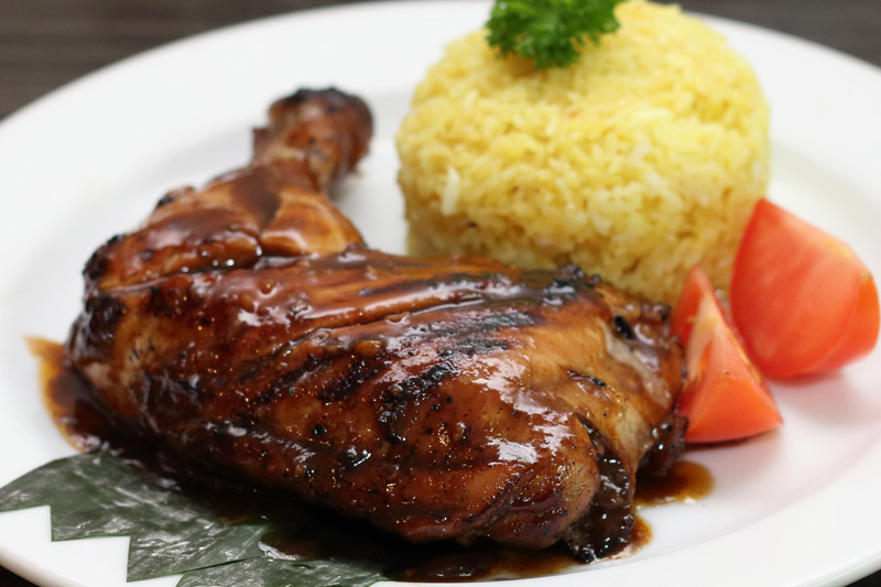 Turo-Turo - BBQ chicken with Java rice